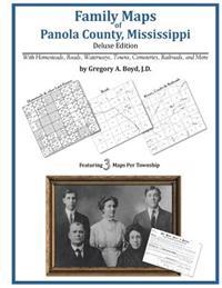 Family Maps of Panola County, Mississippi