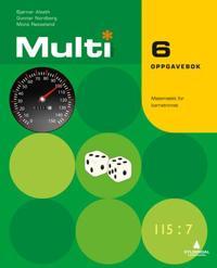 Multi 6, 2. utgave; oppgavebok - Bjørnar Alseth, Gunnar Nordberg, Mona Røsseland pdf epub