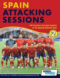 Spain Attacking Sessions - 140 Practices from Goal Analysis of the Spanish National Team