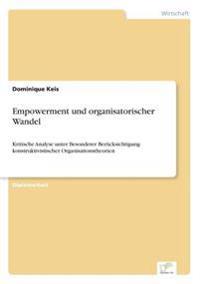 Empowerment Und Organisatorischer Wandel