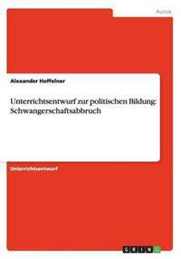 Unterrichtsentwurf Zur Politischen Bildung
