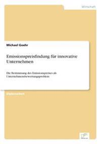 Emissionspreisfindung Fur Innovative Unternehmen
