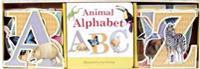 Animal Alphabet Book & Learning Play Set