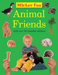 Sticker Fun: Animal Friends: With Over 50 Reusable Stickers