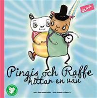 Pingis och Raffe hittar en vän
