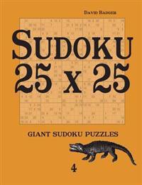 Sudoku 25 X 25: Giant Sudoku Puzzles 4