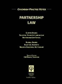 Practice Notes on Partnership Law