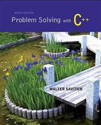 Problem Solving with C++ with MyProgrammingLab 12-Month Student Access Code