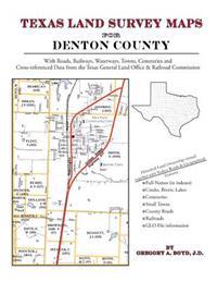 Texas Land Survey Maps for Denton County