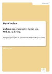 Zielgruppenorientiertes Design Von Online-Marketing