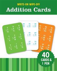 Write-On Wipe-Off Addition Cards