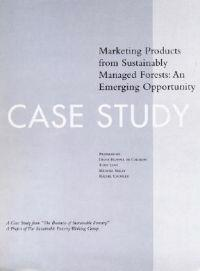 Marketing Products from Sustainably Managed Forests