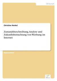 Zustandsbeschreibung, Analyse Und Zukunftsbetrachtung Von Werbung Im Internet