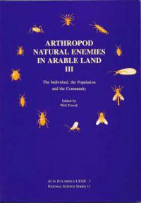 Arthropod Natural Enemies 3: The Individual, the Population and the Community
