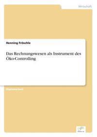 Das Rechnungswesen ALS Instrument Des Oko-Controlling