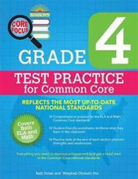 Grade 4 Test Practice for Common Core