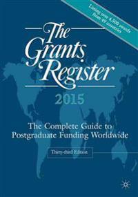 The Grants Register 2015