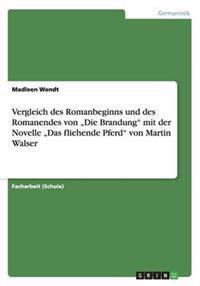 """Vergleich Des Romanbeginns Und Des Romanendes Von """"Die Brandung Mit Der Novelle """"Das Fliehende Pferd Von Martin Walser"""