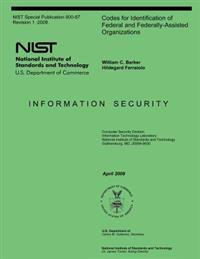 Codes for Identification of Federal and Federally-Assisted Organizations
