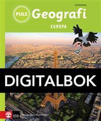 PULS Geografi 4-6 Europa Grundbok Digital, tredje upplagan