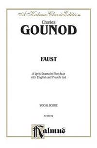 Faust: Vocal Score (French, English Language Edition), Vocal Score