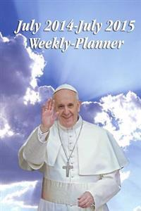July 2014-July 2015 Weekly-Planner