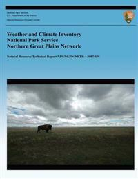 Weather and Climate Inventory National Park Service Northern Great Plains Network