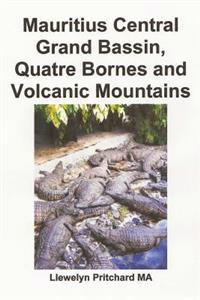Mauritius Central Grand Bassin, Quatre Bornes and Volcanic Mountains: En Souvenir Insamling AV Farg Fotografier Med Bildtexter