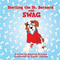 Sterling the Saint Bernard with Swag
