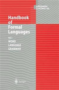 Handbook of Formal Languages