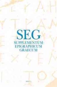 Supplementum Epigraphicum Graecum, Volume LX (2010)