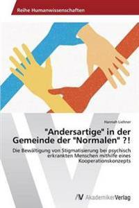 """""""Andersartige"""" in Der Gemeinde Der """"Normalen"""" ?!"""