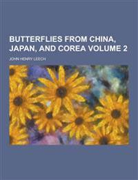 Butterflies from China, Japan, and Corea Volume 2