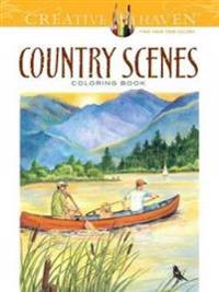 Country Scenes Coloring Book