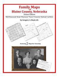 Family Maps of Blaine County, Nebraska