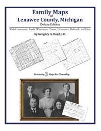 Family Maps of Lenawee County, Michigan