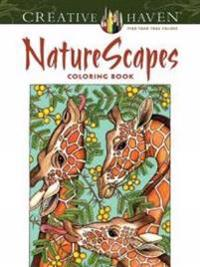 Naturescapes Adult Coloring Book