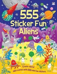 555 Sticker Fun Aliens
