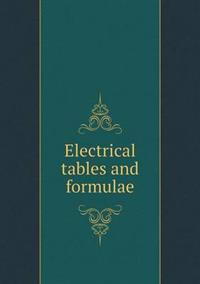 Electrical Tables and Formulae