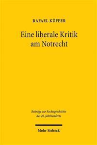 Eine Liberale Kritik Am Notrecht: Zaccaria Giacometti ALS Protagonist Der Schweizer Notrechtsdebatte