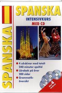 Spanska Intensivkurs med CD