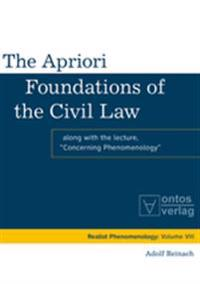 The Apriori Foundations of the Civil Law