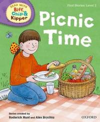 Oxford Reading Tree Read with Biff, Chip and Kipper: First Stories: Level 2: Picnic Time
