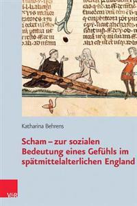 Scham: Zur Sozialen Bedeutung Eines Gefuhls Im Spatmittelalterlichen England