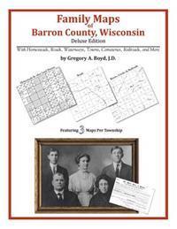 Family Maps of Barron County, Wisconsin