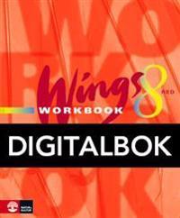 Wings 8 Red Workbook Digital