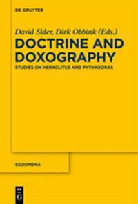 Doctrine and Doxography
