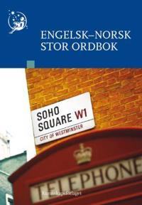 Engelsk-norsk stor ordbok