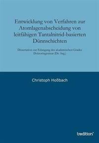 Entwicklung Von Verfahren Zur Atomlagenabscheidung Von Leitfahigen Tantalnitrid-Basierten Dunnschichten