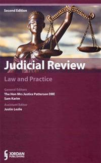 Judicial Review: Law and Practice (Second Edition)